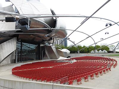 Jay Pritzker Pavilion in Chicago